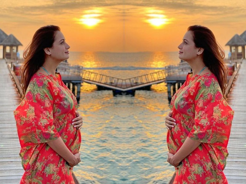 Dia Mirza announces pregnancy with beautiful picture