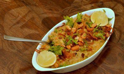Here's the recipe for nutritious veg rice porridge