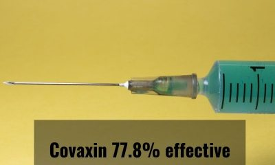 Covaxin 77.8% effective in phase 3 trial data: Sources