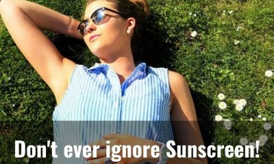 Here's why you should never skip Sunscreen!