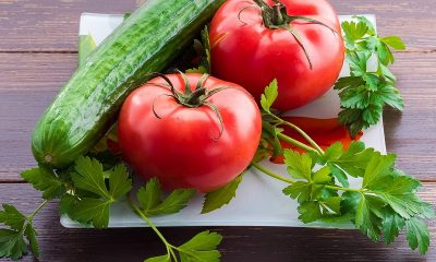 Recipe of easy and health-giving Tomato Cucumber salad is here!