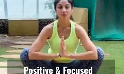 """This is how Shilpa Shetty stays """"Positive And Focused"""" at a """"Low Point"""" in her life"""