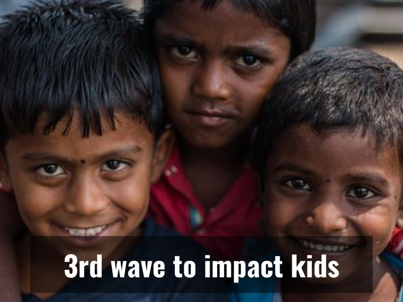 Covid-19 in India: 3rd wave may peak in October, children at risk