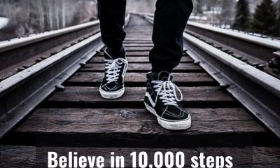 Why 10,000 steps a day is good for you?