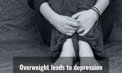 Overweight might cause depression, says a study
