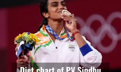 Here's how PV Sindhu maintains her health