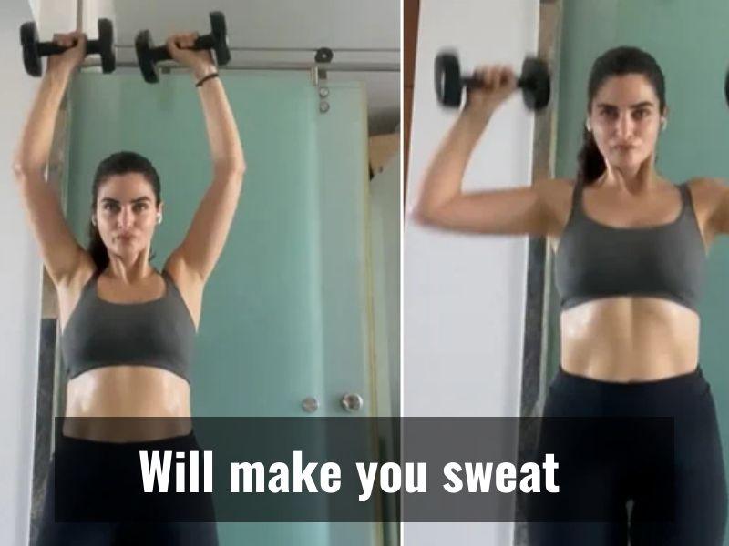 Gabriella Demetriades' 30-minute work out routine is viral now!