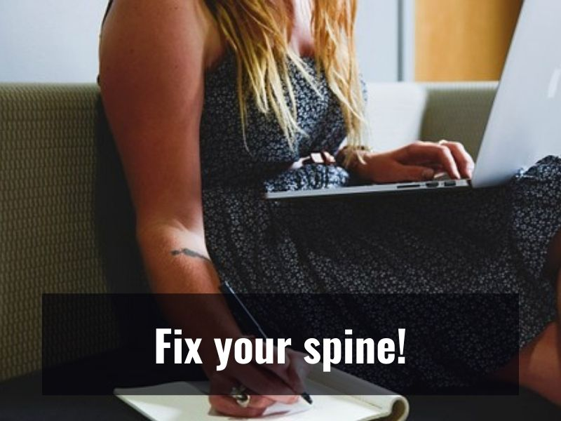 Fix Your Posture For A Healthy Spine!