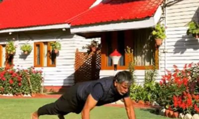 Fitness inspiration: Only Milind Soman can do this!!