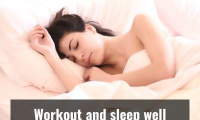 Do you know working out can help you sleep better?