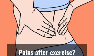 Four ways to rid your body of pain after exercise