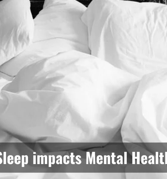 Do you know sleep is linked to mental health?